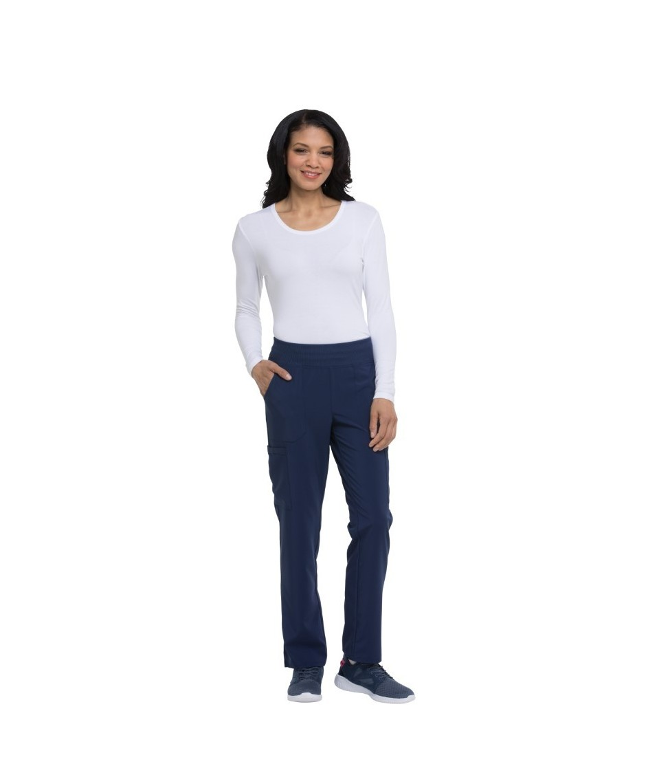 Natural Rise Tapered Leg Pull-On Pant DK005