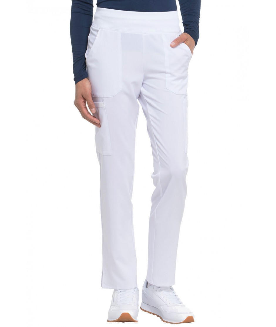 WOMEN'S EDS ESSENTIALS NATURAL RISE TAPERED LEG PULL-ON SCRUB PANTS DK005