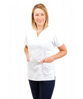 Nursing Uniforms Fitted Scrub V Neck T05 T05