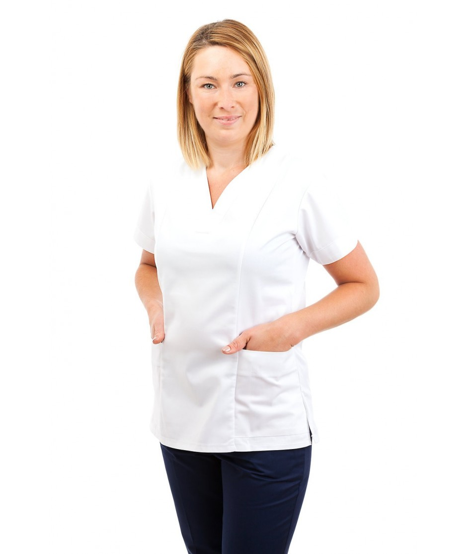 Nursing Uniforms Fitted Scrub V Neck T05 T05