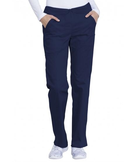 Mid Rise Straight Leg Drawstring Pant GD100