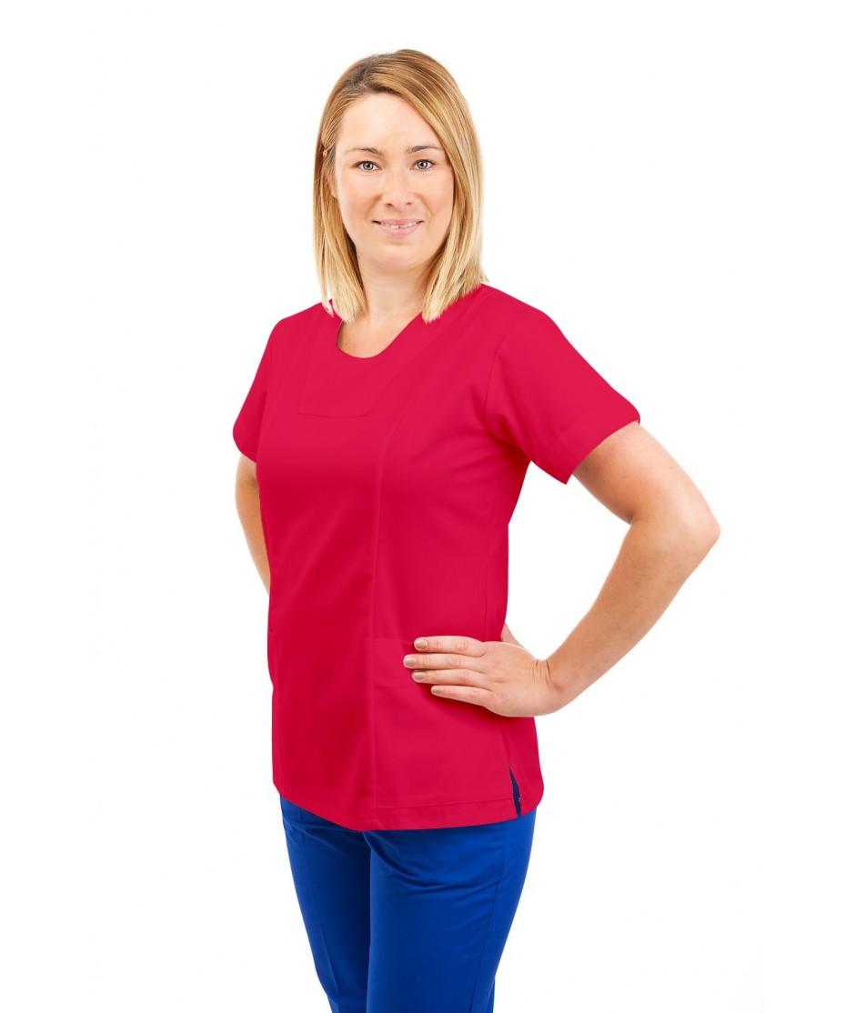 T04 Nurses Uniform Fitted Scrub Round Neck Rosita T04-ROS