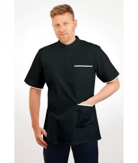 T20 Nurses Uniforms Top Males Black T20-BLA