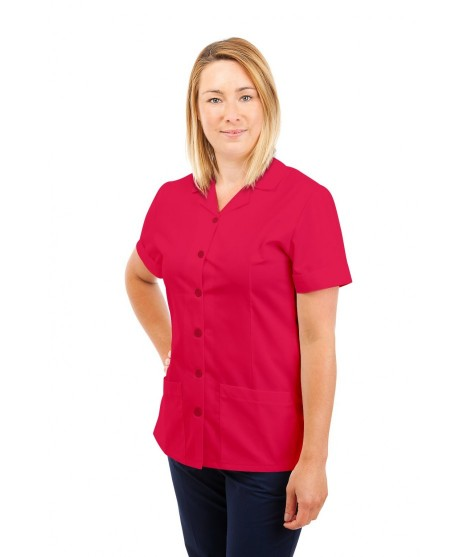 T01 Nurses Uniform Tunic Revere Collar Rosita T01-ROS