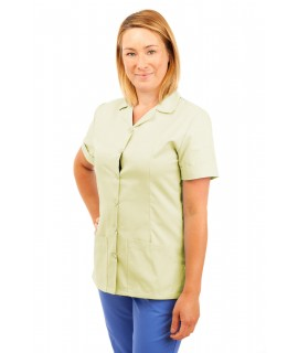 T01 Nurses Uniform Tunic Revere Collar Magnolia T01-MAG