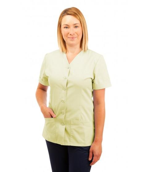 T02 Nurses Uniform V Neck Magnolia T02-MAG