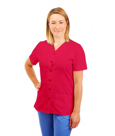 T02 Nurses Uniform V Neck Rosita T02-ROS