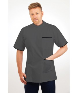 T20 Nurses Uniforms Top Males Grey T20-SIL