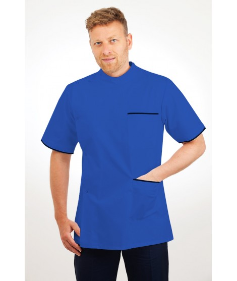 T20 Nurses Uniforms Top Males Mid Blue T20-BMB