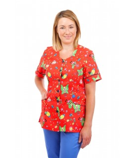 Pediatric - Nurses Tunic Sweetheart Neckline T03 T03