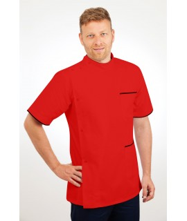T20 Nurses Uniforms Top Males Red T20-RED