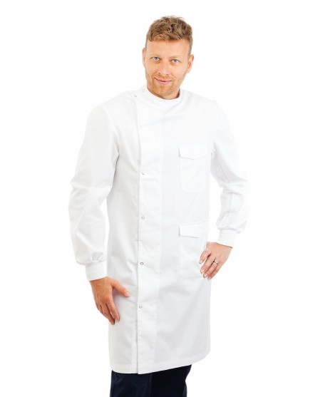 CH30 : Chefs Jacket Short Sleeve White or Black
