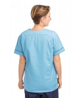 T05 Pastel - Nursing Uniforms Fitted Scrub V Neck T05