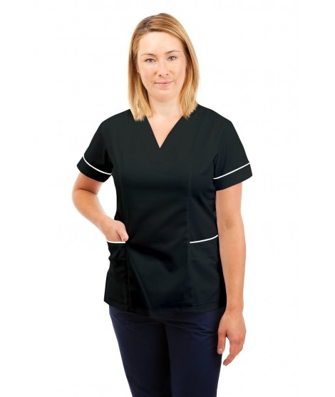 SONAS T05 Female Fitted Tunic Black SONAS -T05