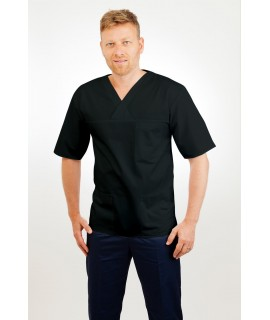 SONAS T21 Male Tunic V Neck Black SONAS - T21- Black