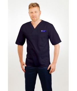 Male Tunic V Neck T21 - St. Michael's Hospital CNS uniform T21-STMICHAELS