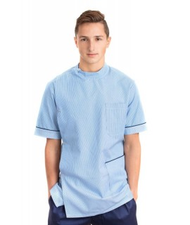 Male Stud Side Closing Nursing Uniform Top T20 T20